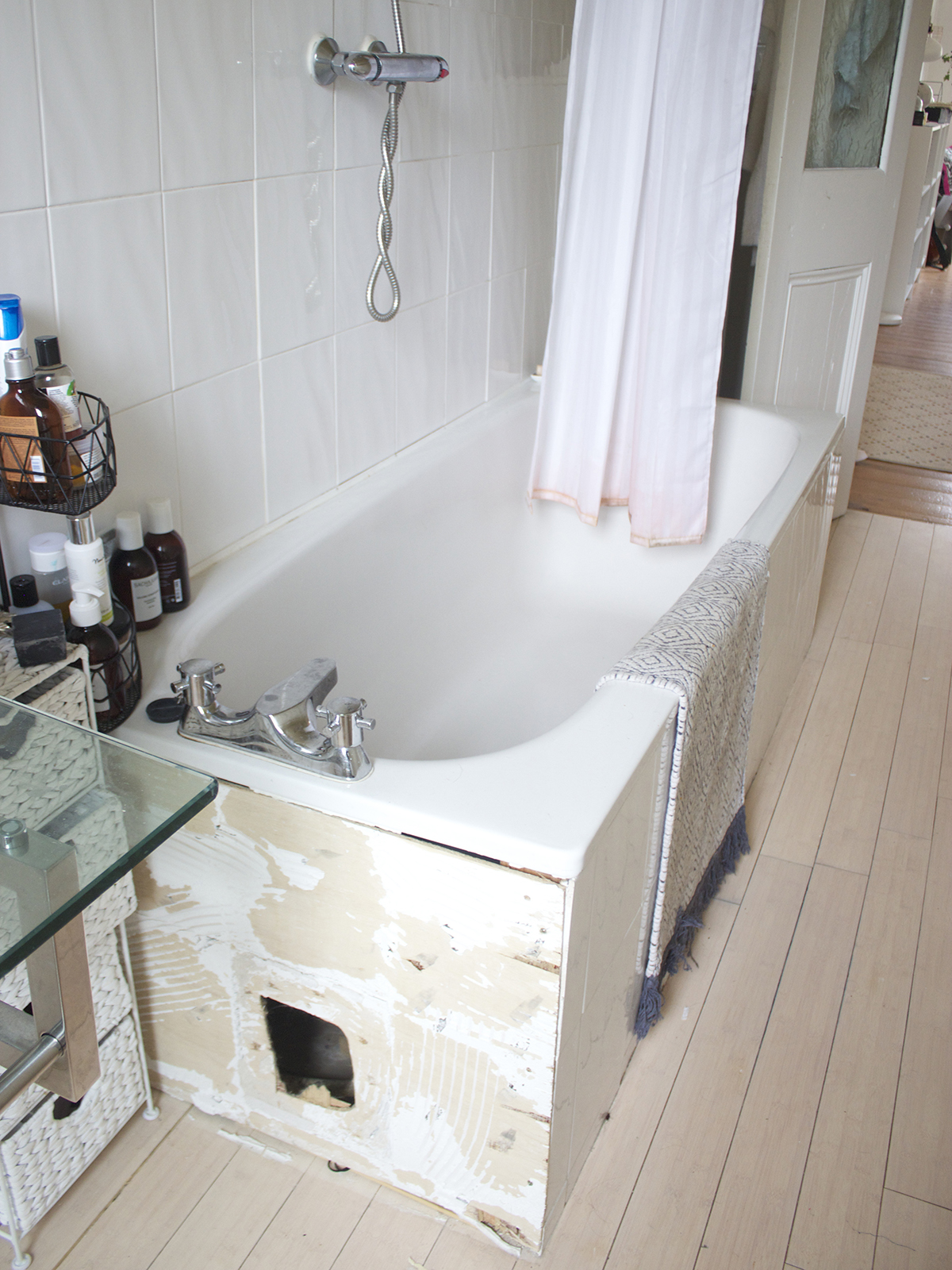 A Bathroom Makeover: Before & After. - KATE LA VIE