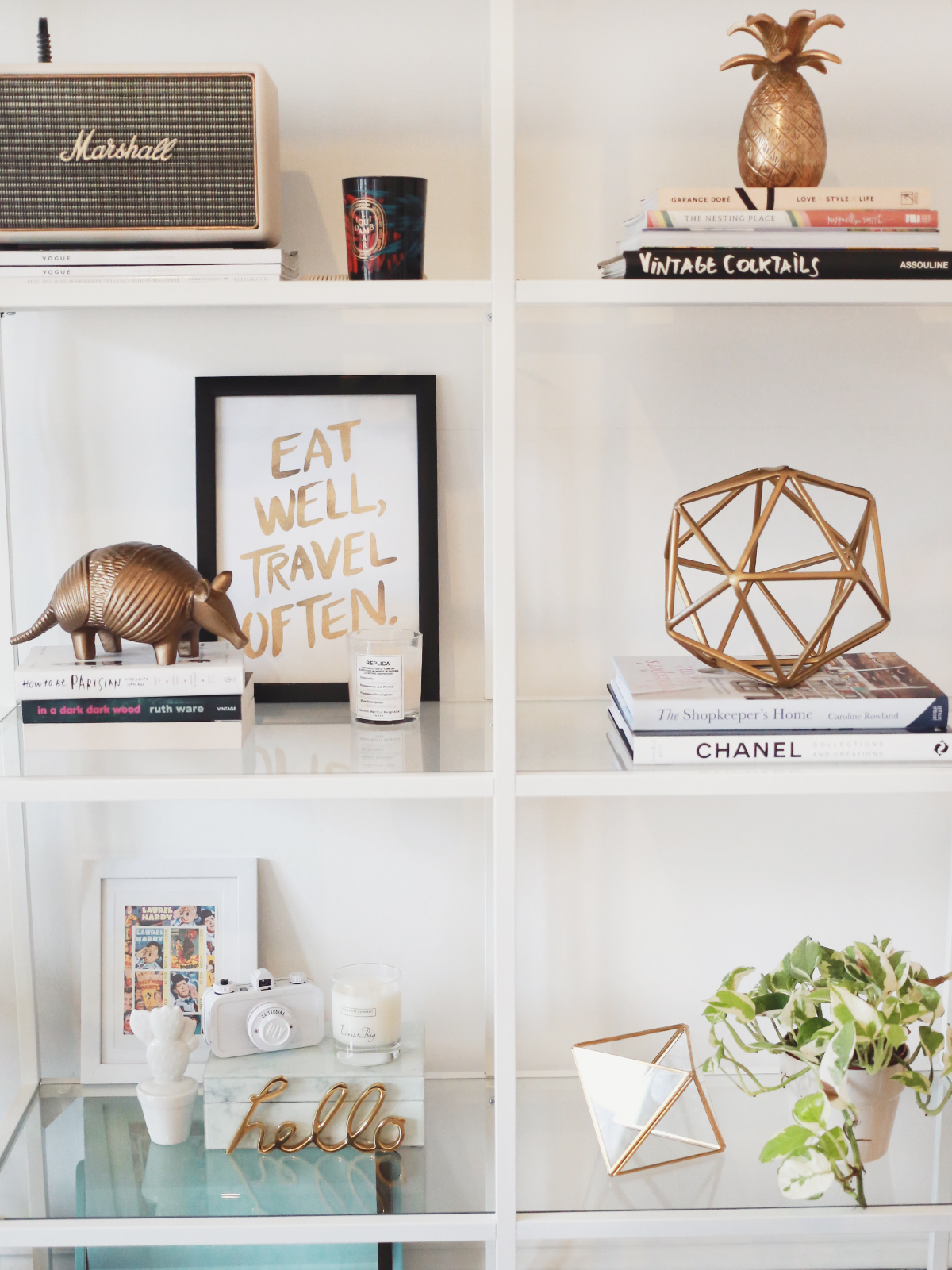 Shelfie sunday kate la vie bloglovin for Home decoration images