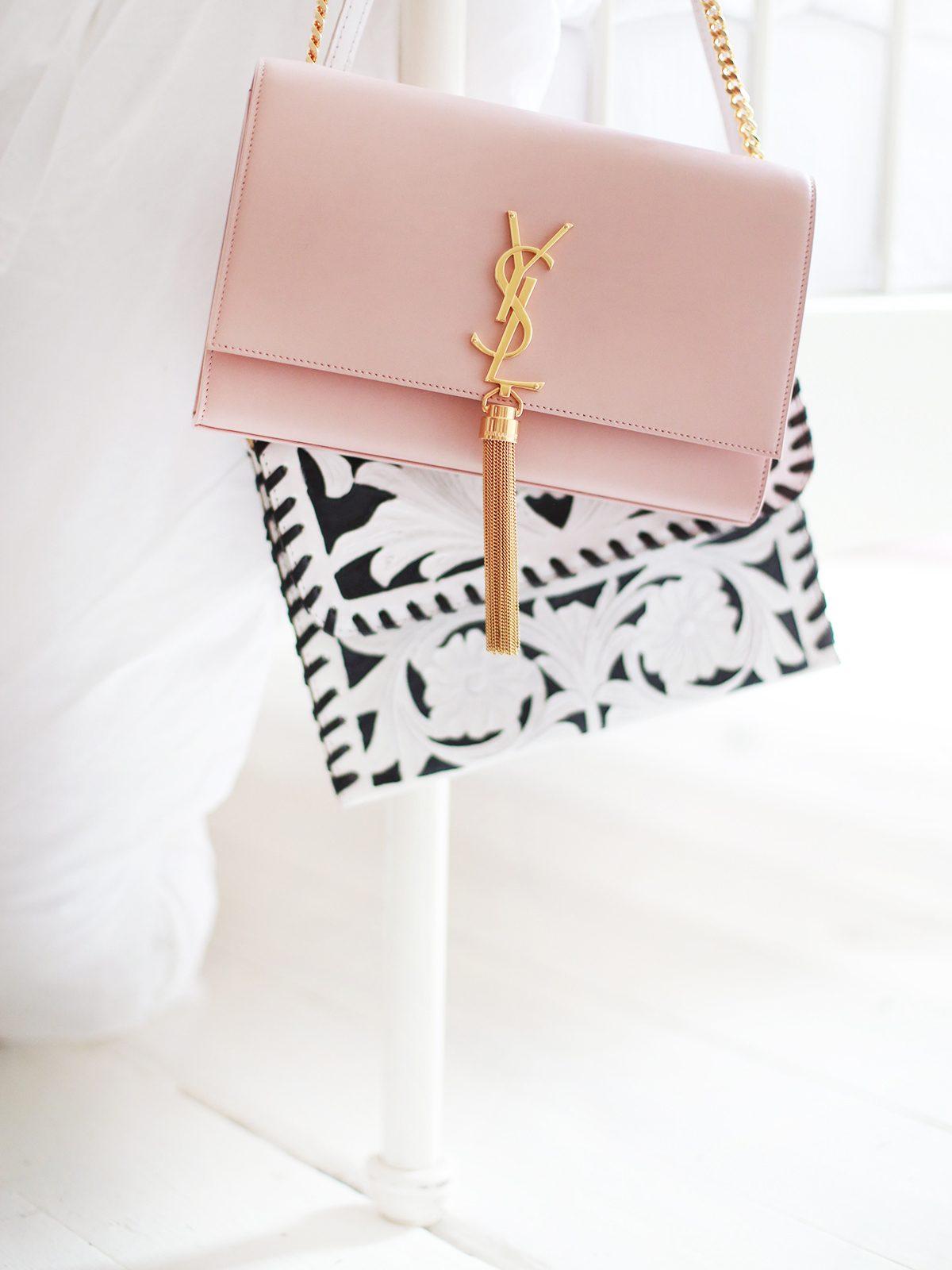 The Blush Pink Bag. - KATE LA VIE