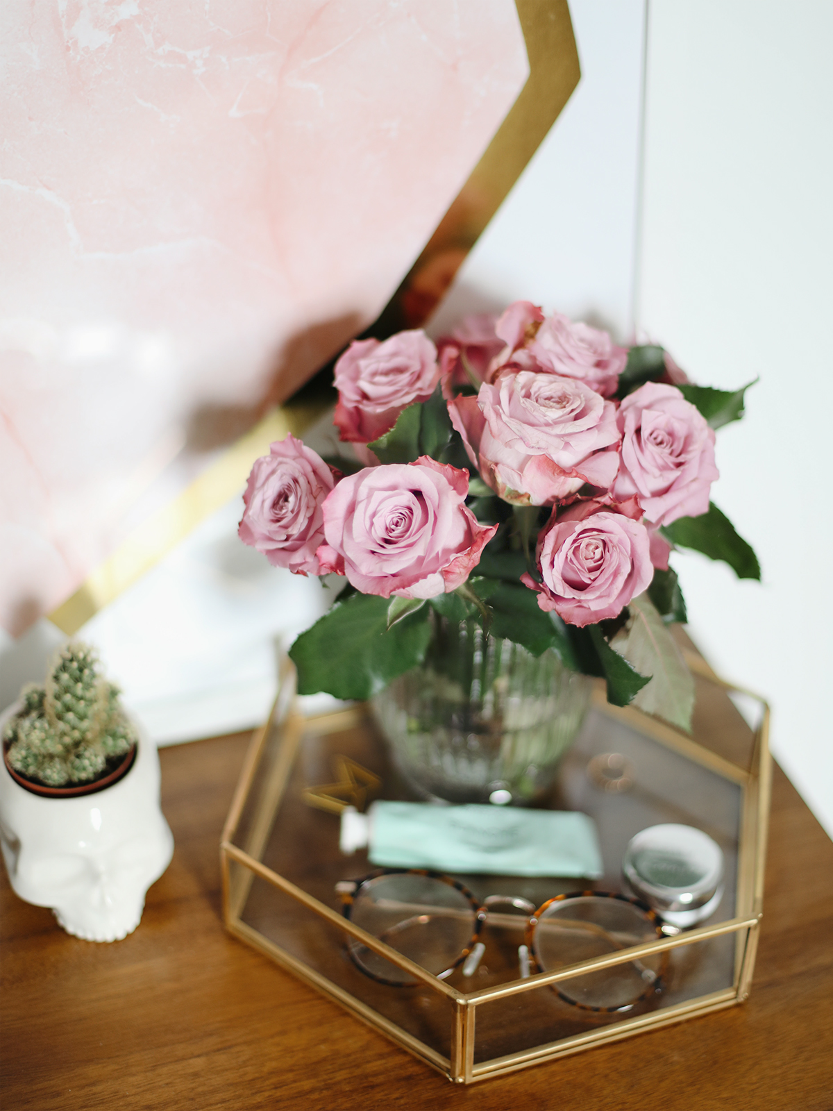 Decorating With Fresh Blooms.