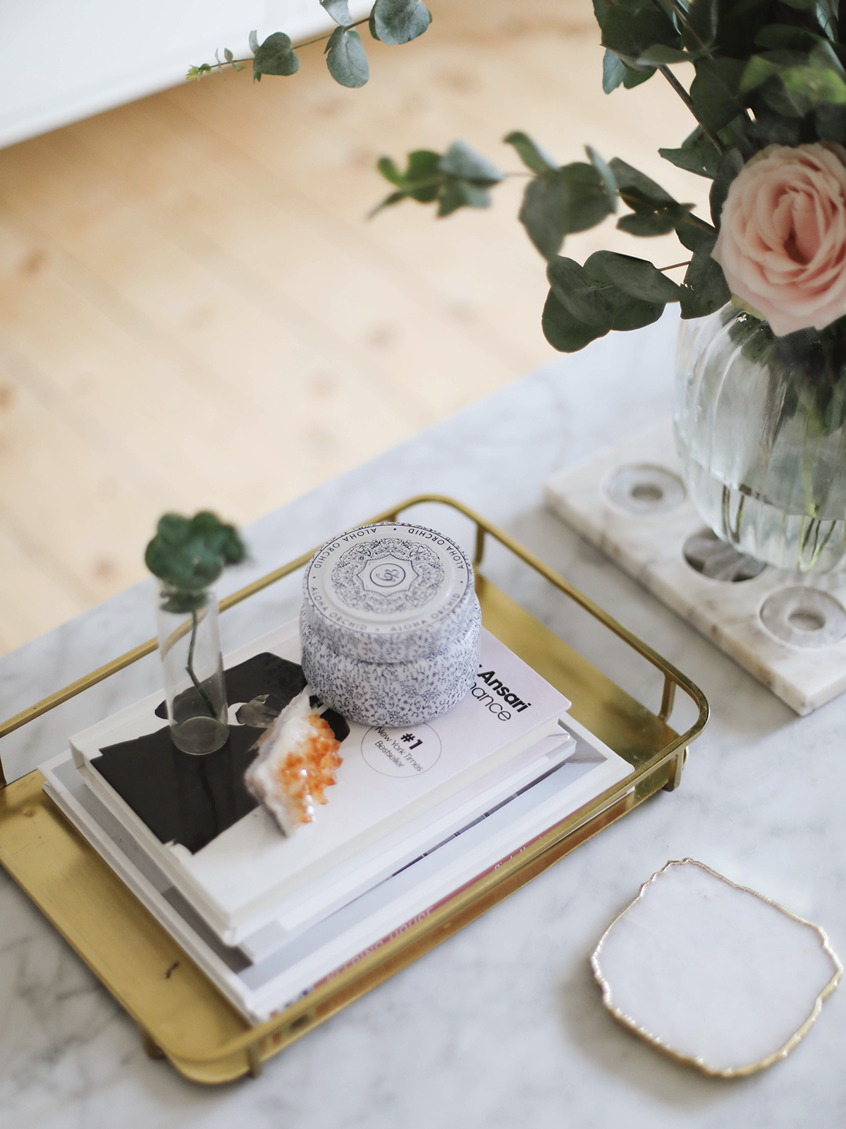 Styling A Coffee Table KATE LA VIE