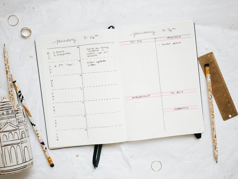 A Look At My Bullet Journal Kate La Vie